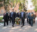 Фрунзенцы почтили своих ветеранов
