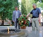 Фрунзенцы почтили память воинов-освободителей