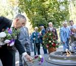 Заводчане почтили освободителей родного города