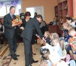 Представители НПО им. Фрунзе поздравили воспитанников сумского интерната с Днем Святого Николая