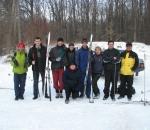 Заводская молодежь завоевала серебро в городских лыжных гонках