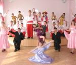 Фрунзенцы побывали на выпускном балу в подшефной Правдинской школе-интернате