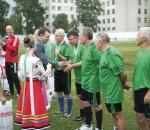 Футбольная команда сумских машиностроителей «Фрунзенец» отпраздновала 60-летний юбилей