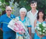 Фрунзенськие спортсмены и активисты – семья Кобзенко-Моргуновых