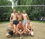 Спортсмены цеха №2: финал волейбольного турнира чуть не превратился в водное поло