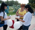 Молодежь Сумского НПО провела акцию-сюрприз ко Дню машиностроителя
