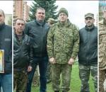 Заводчани-воїни АТО приймали вітання з нагоди другої річниці батальйону «Суми»