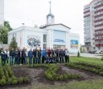 Расти и процветай: в Сумском НПО состоялась эко-акция, посвященная 120-летию предприятия