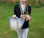 Швидкість і грація: Юлія Шерстюк стала переможницею кінних змагань «Маленькі KAVALIER'И»